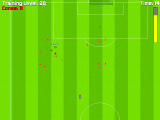 New Star Soccer 3 Windows Tackle practice: knock down those cones!