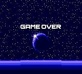 Gunstar Heroes Game Gear Game Over.