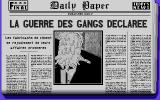 Dick Tracy DOS and newspaper states it...