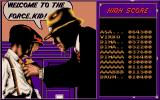 Dick Tracy DOS High Score...