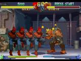 Street Fighter Alpha 2 PlayStation Using his teleporting move Ashura Senkuu, Gouki (Akuma) moves quickly to attack a dizzied Birdie.