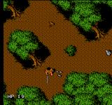 Robin Hood: Prince of Thieves NES In the wood