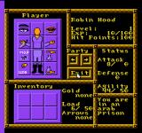 Robin Hood: Prince of Thieves NES Stats and equipment