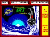Professional Ski Simulator ZX Spectrum Loading screen