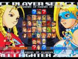 Street Fighter Alpha 3 PlayStation Character selection