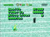 Gex PlayStation End of level stats