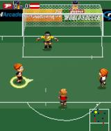 Playman World Soccer J2ME Rainy weather