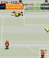 Playman World Soccer J2ME The keeper saves!