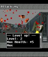 DOOM RPG J2ME Lots of blood and level up!