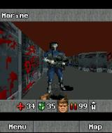 DOOM RPG J2ME This soldier has some hints before you start.