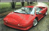 Test Drive III: The Passion DOS Lamborghini Diablo (EGA)