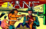 Kane Amstrad CPC Title screen