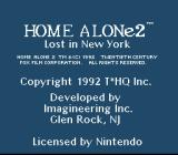 Home Alone 2: Lost in New York SNES Title screen #2