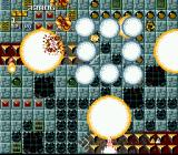 Space Megaforce SNES Kaboom! You use your super-blasting weapon...