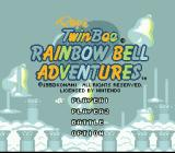 Pop'n TwinBee Rainbow Bell Adventures SNES Title screen