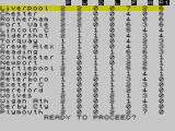 The Boss ZX Spectrum Early league table