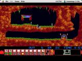 Lemmings Macintosh Fun 1: Just Dig!