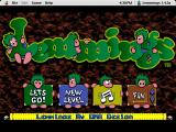 Lemmings Macintosh Lemmings Main Menu