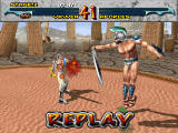 Time Warriors Windows Replays show the last seconds, as usual. Here, Apokles uses one of his magic moves on Yrwen