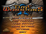 Time Warriors Windows Title screen