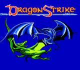 DragonStrike NES Title screen