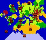 DragonStrike NES Map