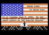 Crusade in Europe Atari 8-bit The game introduction