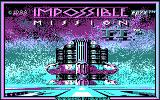 Impossible Mission II DOS title screen - CGA