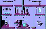 Impossible Mission II DOS searching a room - CGA