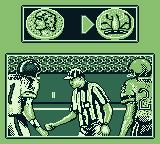Madden 96 Game Boy The coin toss