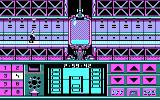 Impossible Mission II DOS in hallway - CGA