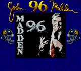 Madden 96 Game Boy Title screen (Super Game Boy)