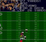 Madden 96 Game Gear Kick was returned for 26 yards