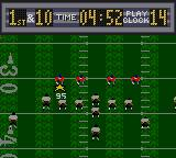 Madden 96 Game Gear The play