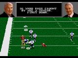 Madden NFL 96 Genesis The pass is good for a 18 yard gain. First down.