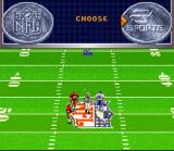 Madden NFL 96 SNES The coin toss