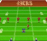 Madden NFL 96 SNES The kickoff