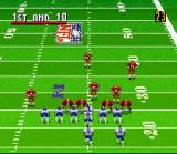 Madden NFL 96 SNES The play