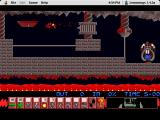 Lemmings Macintosh Fun 6: A task for blockers and bombers (note the exit is different from the Amiga/DOS Version)