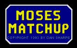 Moses Matchup DOS Title screen