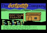Moptown Parade Atari 8-bit Title screen