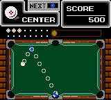 "Side Pocket Game Gear When there's only one ball left, the message ""ZONE"" will appear over the board. You have to hit the zone marked pocket to gain bonus gifts."
