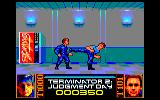 Terminator 2: Judgment Day Amstrad CPC Level 1 - Fight with T1000 in the shopping mall