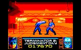 Terminator 2: Judgment Day Amstrad CPC Level 7 - Fight with T1000 in the steel mill