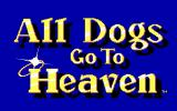 All Dogs Go to Heaven DOS Title screen (EGA)