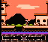 The Flintstones: The Rescue of Dino & Hoppy NES Fred is in the water town of Reef Rock