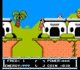 The Flintstones: The Rescue of Dino & Hoppy NES Fred is able to hang if you hold A near a ledge