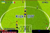 Premier Action Soccer Game Boy Advance Kicking off