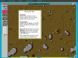 SimAnt: The Electronic Ant Colony DOS Plenty of help from the interface, and plenty is needed.