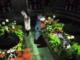"""Grim Fandango Windows It is possible to die again in the afterlife. When this happens, the skeletons """"sprout"""" - hence the second death is associated with flowers..."""
